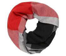 Schal blau / rot