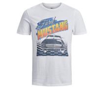 Mustang T-Shirt weiß