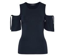 Cold-Shoulder-Pullover indigo