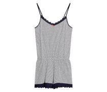 Jumpsuit 'Eila Cas' navy / weiß