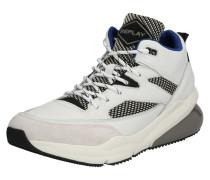 Sneaker 'hardstrow' grau / offwhite