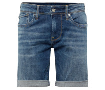 Jeans 'hatch Short' blue denim