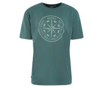 T-Shirt 'Garve Printed T' pastellgrün