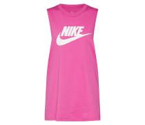 Top pink / weiß