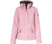 Jacke rosa / weiß
