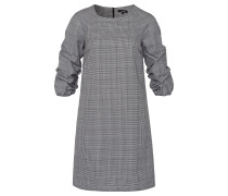 Kleid grau / schwarz / weiß
