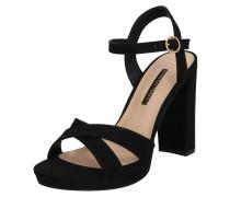 Sandalette 'Saucy' schwarz