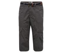 Shorts 'canvas Cargo Morris' dunkelgrau