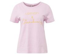 T-Shirt gelb / rosa