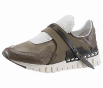 Sneaker 'Denalux' khaki / offwhite