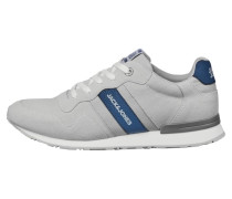 Sneaker hellgrau / blau