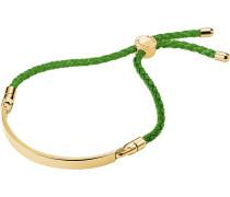 Armband gold / grün