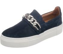Sneakers Low blau / silber