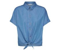 4c2e84756e8d83 Bluse  milen  blue denim. only