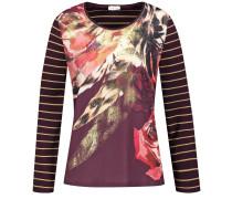 Shirt gold / rosé / burgunder
