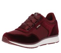 Sneaker 'anne' dunkelrot
