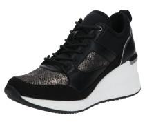 Sneaker 'thrundra' weiß / schwarz