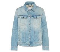 Jeans Jacke '3301' blau