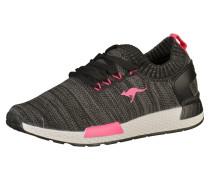 Sneaker pink / schwarzmeliert