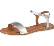 Sandale 'Lara' silber