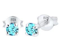 Ohrringe blau / silber