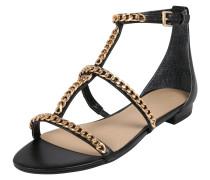 Sandale 'raiven' schwarz