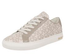 Sneaker 'court' beige / weiß