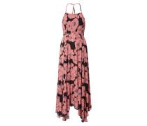 Sommerkleid schwarz / pink