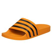 Badeschuhe 'adilette' orange