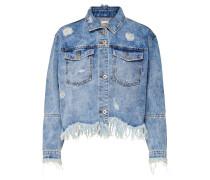 Raw Jeansjacke blau
