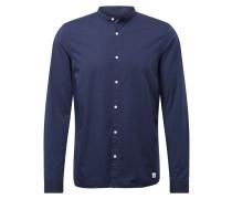 Hemd blau / schwarz