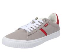 Sneaker 'Skinner' grau / rot