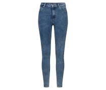 Acid Washed Jeans blau