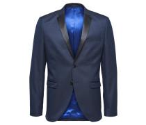 Blazer taubenblau / schwarzmeliert