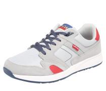 Sneaker 'Sutter' grau / rot