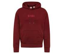 Hoodie 'oversized Graphic' rot