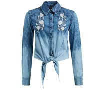 Bluse ' Kristyna ' blue denim