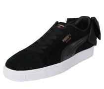 Veloursleder-Sneaker mit Schleife 'Suede Bow'