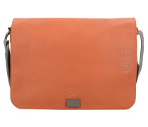 'Punch Casual 49' Messenger Leder 38 cm Laptopfach
