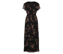 Kleid 'queen' mischfarben / schwarz