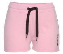 Shorts rosa / schwarz