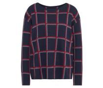 Patterned boxy sweater