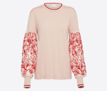 Pullover rosa / rot