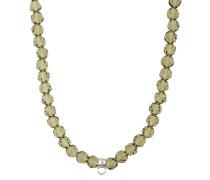 Halskette oliv