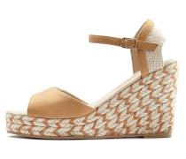 Sandalette hellbeige
