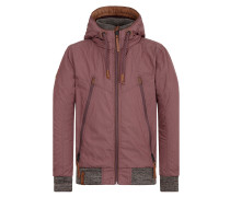 Jacke 'Old Boy' aubergine