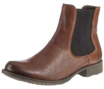 Chelsea Boots dunkelbeige / braun / schwarz