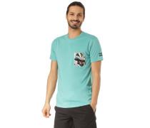 T-Shirt 'Team Pocket' jade