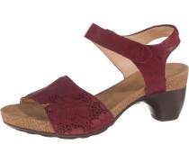 Sandaletten 'Traudi' blutrot