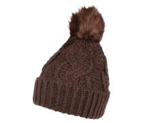Mütze 'naya Beanie' braun